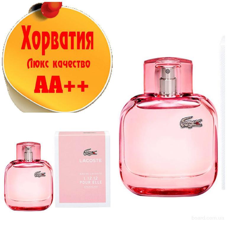 Lacoste L. 12. 12 pour Elle Sparkling Люкс качество АА++! Хорватия Качественные копии