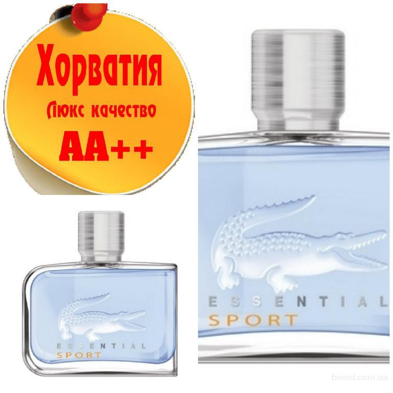 Lacoste Essential Sport (Blue) Люкс качество АА++! Хорватия Качественные копии
