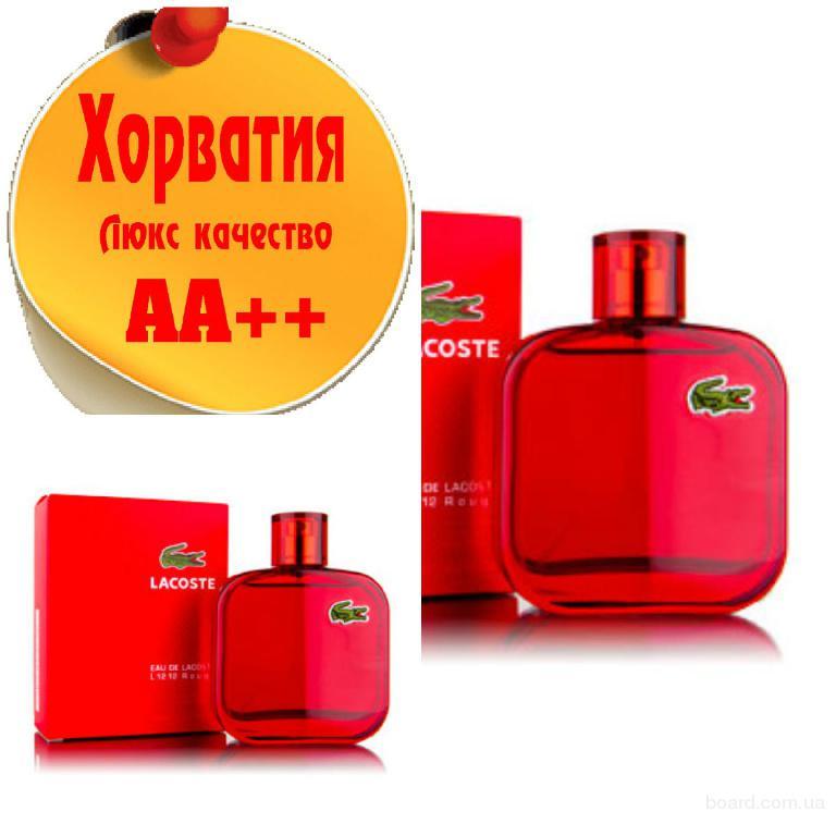 Lacoste L.12.12 Rouge  Люкс качество АА++! Хорватия Качественные копии