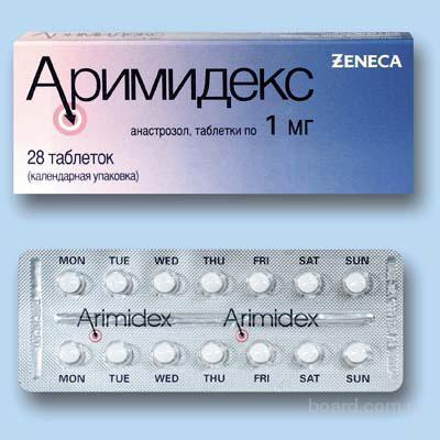 Доставка в ваш город препарата Аримидекс возможна даже за сутки!