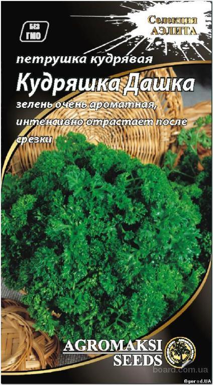 Семена петрушки «Кудряшка Дашка» - 0,2 грамма