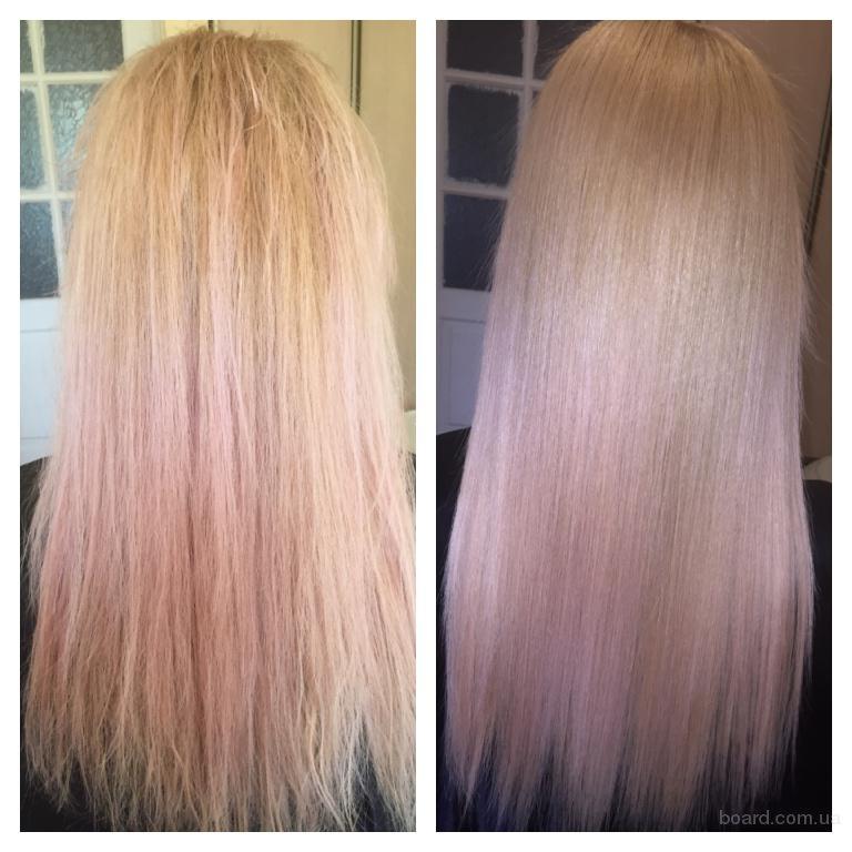 Кератиновое выравнивание волос! Гарантия качества!