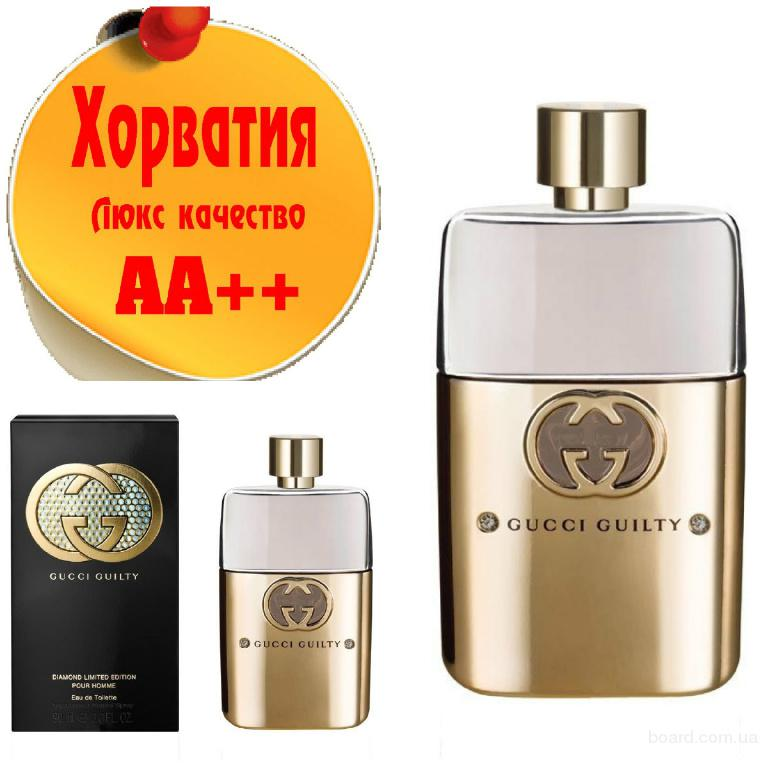 Gucci Guilty pour homme Diamond LimitedЛюкс качество АА++! Хорватия Качественные копии