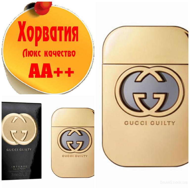 Gucci Guilty Intense Люкс качество АА++! Хорватия Качественные копии