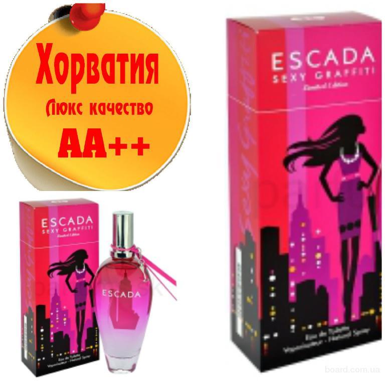 Escada Sexy Graffiti   Люкс качество АА++! Хорватия Качественные копии