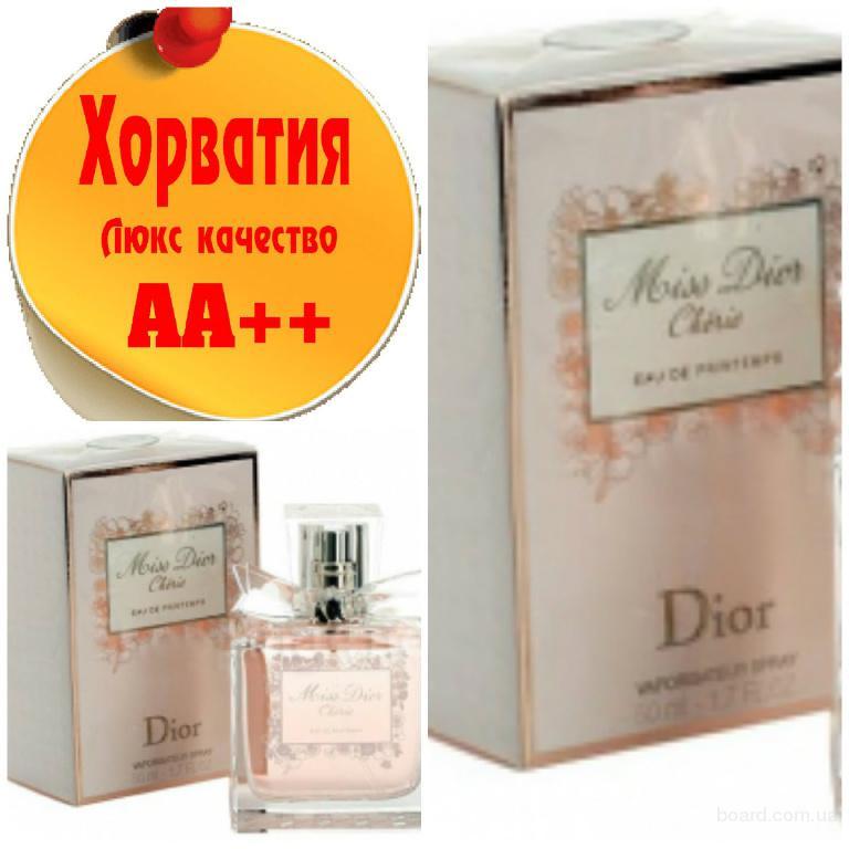 Christian Dior Miss Dior Cherie Eau de Printemps Люкс качество АА++! Хорватия Качественные копии