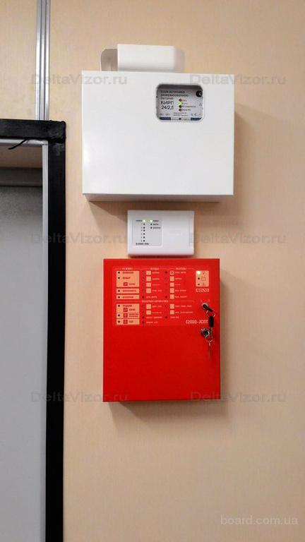 обслуживание систем видеонаблюдения и пожарной сигнализации и скуд контроль