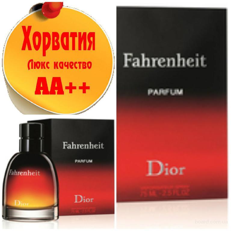 Christian Dior Fahrenheit Le parfumЛюкс качество АА++! Хорватия Качественные копии