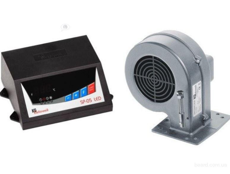 контроллер KG Elektronik SP-05 и вентилятор DP-02
