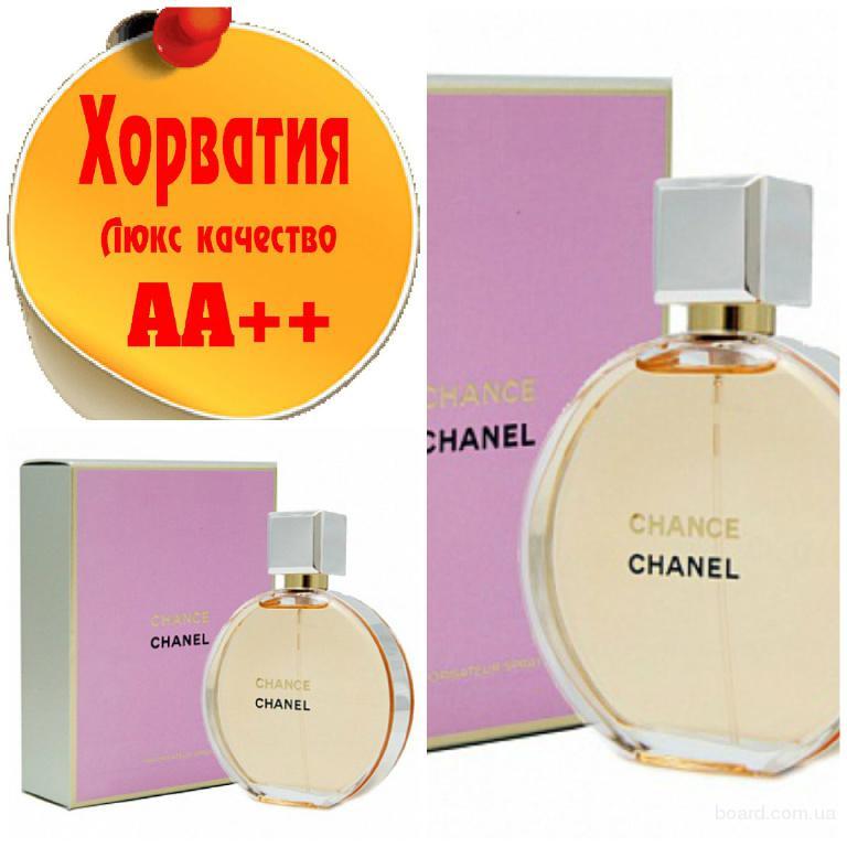 Chanel ChanceЛюкс качество АА++! Хорватия Качественные копии