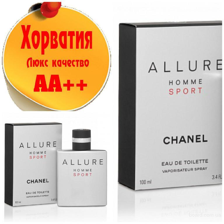 Chanel Allure Homme Sport Люкс качество АА++! Хорватия Качественные копии