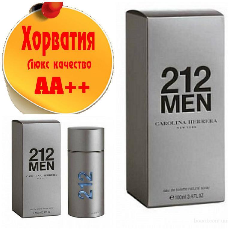 Carolina Herrera 212 Men (магнитная крышка) Люкс качество АА++! Хорватия Качественные копии