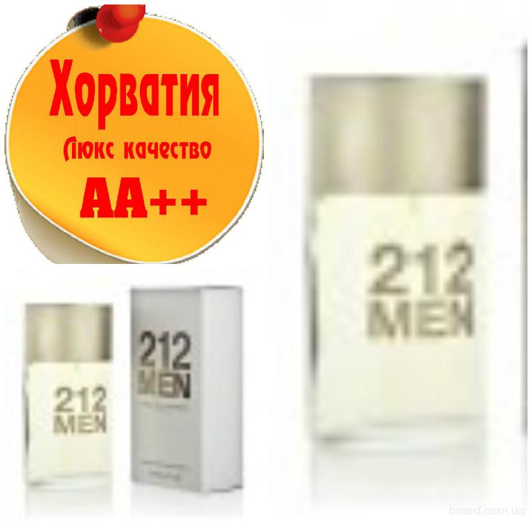 Carolina Herrera 212 men Люкс качество АА++! Хорватия Качественные копии