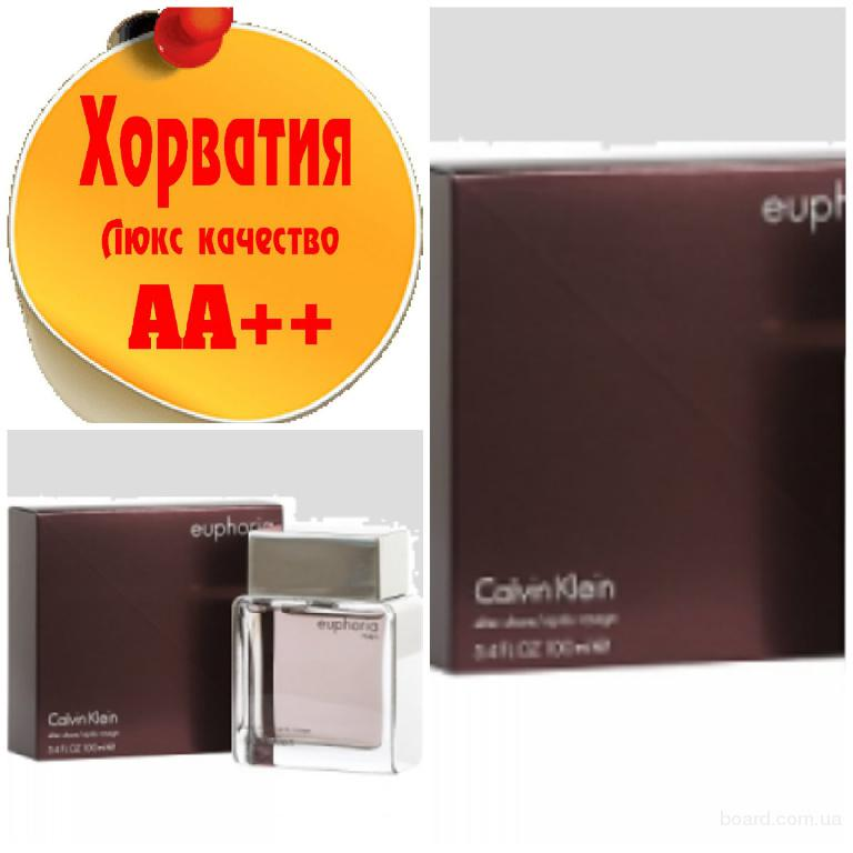 Calvin Klein Euphoria Men  Люкс качество АА++! Хорватия Качественные копии