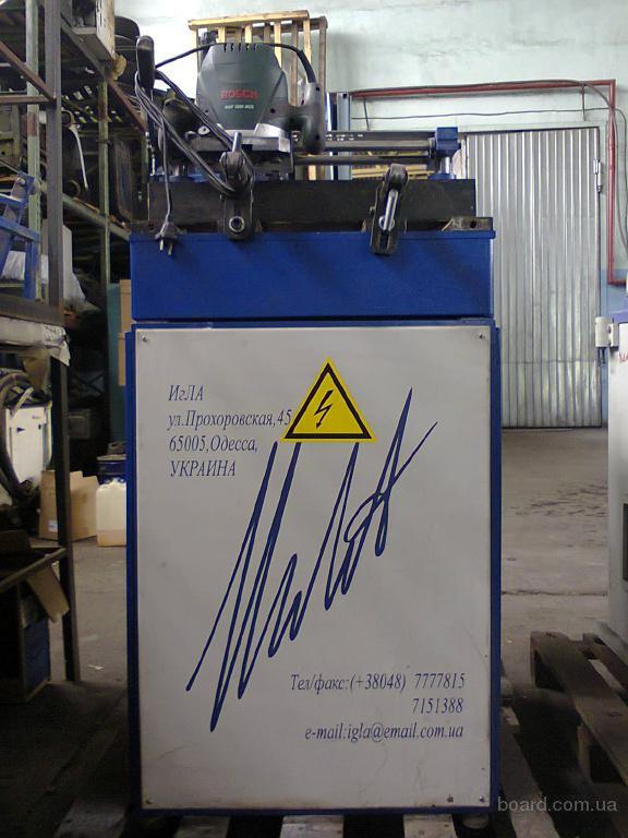 Станок копировально-фрезерный АК-Игла для металлопластиковых окон и дверей