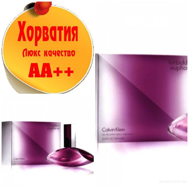 Calvin Klein Euphoria Forbidden Люкс качество АА++! Хорватия Качественные копии