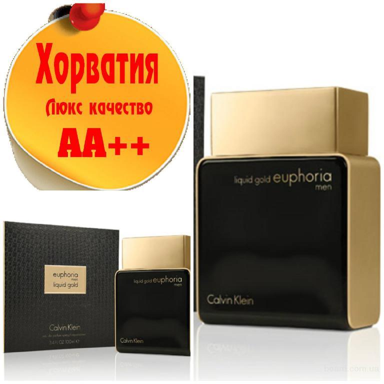 Calvin Klein Euphoria men Liquid gold Люкс качество АА++! Хорватия Качественные копии