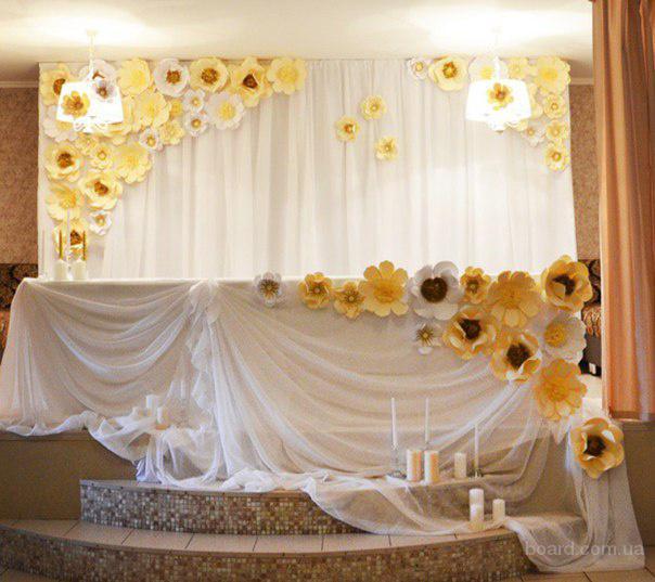 Аренда белого текстиля, украшение свадебного зала и церемонии Киев Оформление свадьбы и свадебной церемонии. Разные цвета и стили
