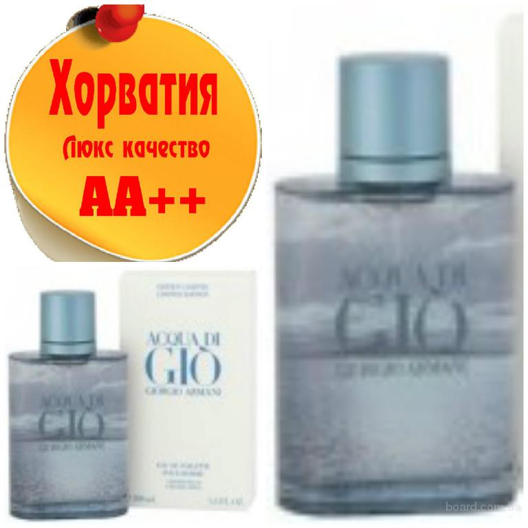 Armani Aqua di Gio Scent of Freedom Ltd. Люкс качество АА++! Хорватия Качественные копии