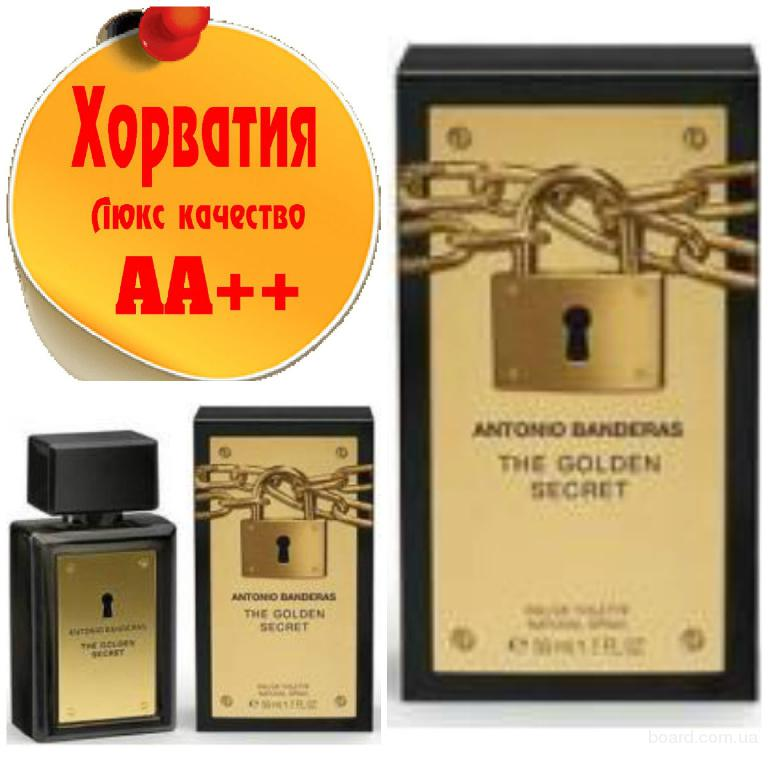 Antonio Banderas The Golden Secret  Люкс качество АА++! Хорватия Качественные копии