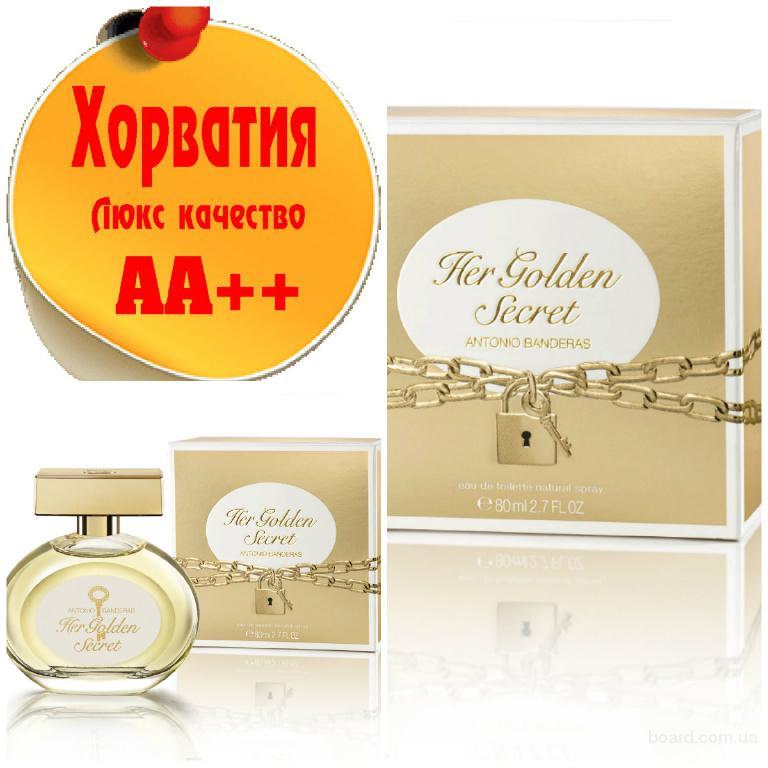 Antonio Banderas Her Golden Secret Люкс качество АА++! Хорватия Качественные копии