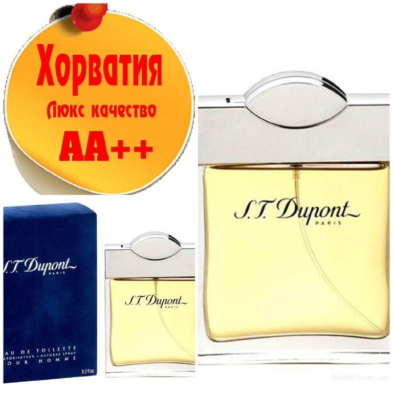 Dupont S. T Intense Pure Homme Люкс качество АА++! Хорватия Качественные копии