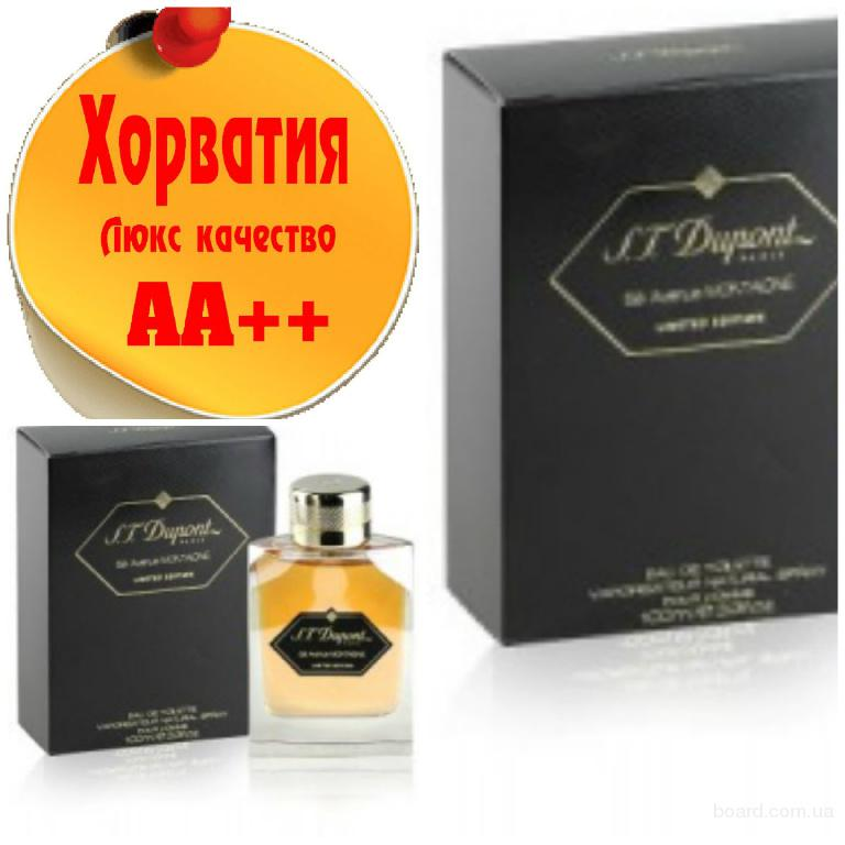 Dupont S.T. 58 Avenue  Montaigne Limited Black   Люкс качество АА++! Хорватия Качественные копии