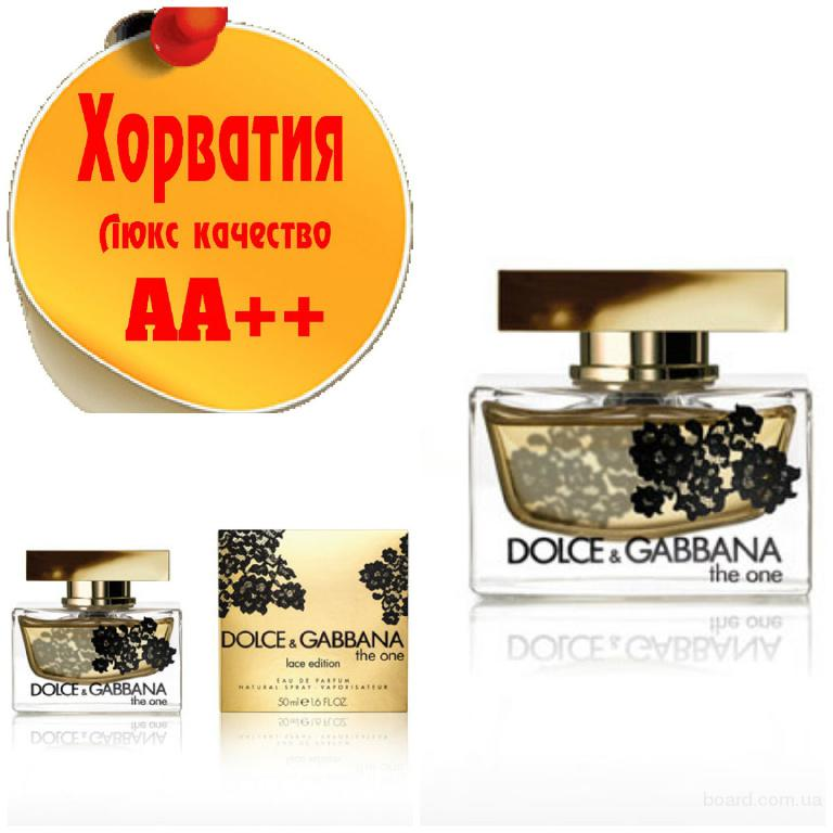 Dolce & Gabbana The One Lace Edition Люкс качество АА++! Хорватия Качественные копии