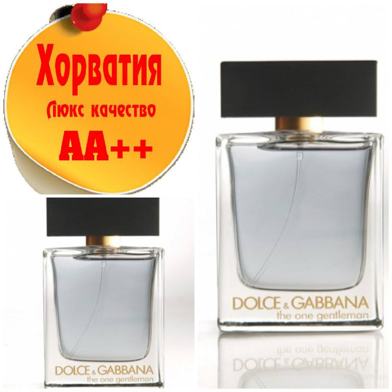 Dolce & Gabbana The One Gentelman Люкс качество АА++! Хорватия Качественные копии