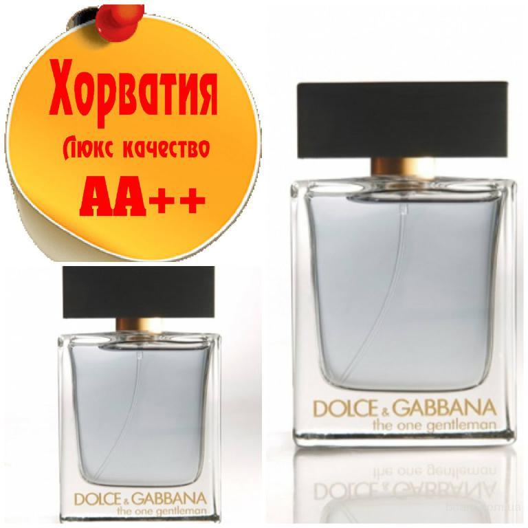 Dolce & Gabbana The One Gentelman Люкс качество АА++! Хорватия Качественные копии