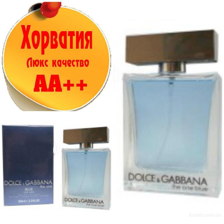 Dolce&Gabbana The One blue for Men Люкс качество АА++! Хорватия Качественные копии