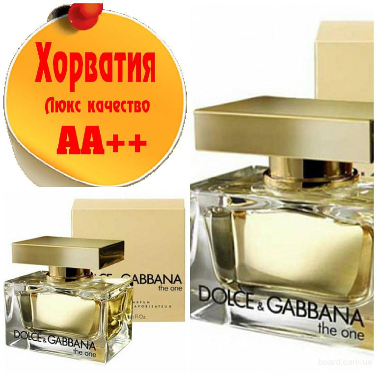 Dolce Gabbana The One Люкс качество АА++! Хорватия Качественные копии