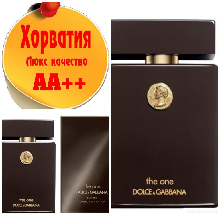 Dolce & Gabbana The One men Collector's edition Люкс качество АА++! Хорватия Качественные копии