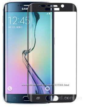 3d Стекло и пленка Samsung S7 Edge S6 Edge S6 Edge plus Покрывает полностью изгиб экрана, чехол книга, накладка Подбор аксессуаров, чехлы, защитные