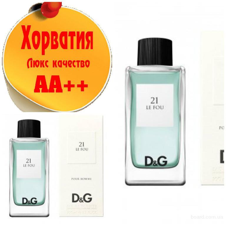 Dolce&Gabbana 21 Le Fou Люкс качество АА++! Хорватия Качественные копии