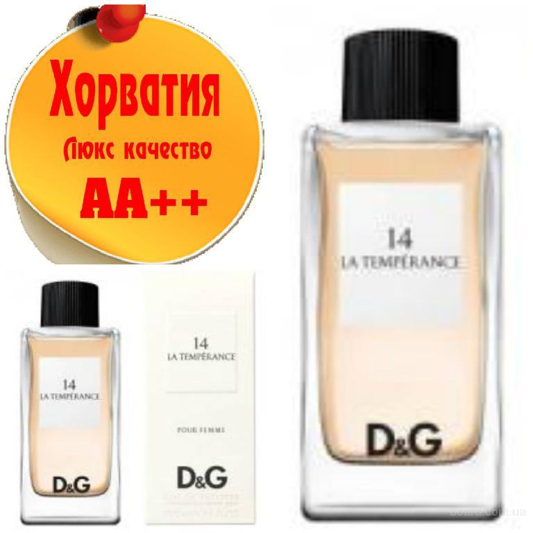 Dolce & Gabbana 14 La Temperance Люкс качество АА++! Хорватия Качественные копии