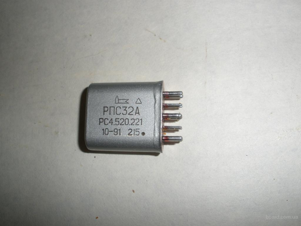 Реле РПС-32А, РПС-11/4