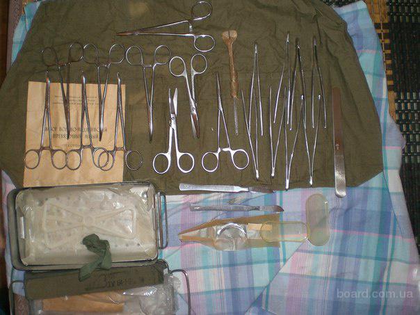 Медицинские инструменты и оболрудование