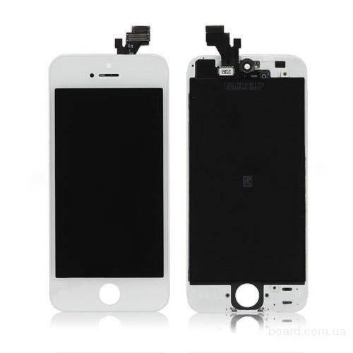 Дисплей для мобильного телефона Apple iPhone 5 Белый + touchscreen Original