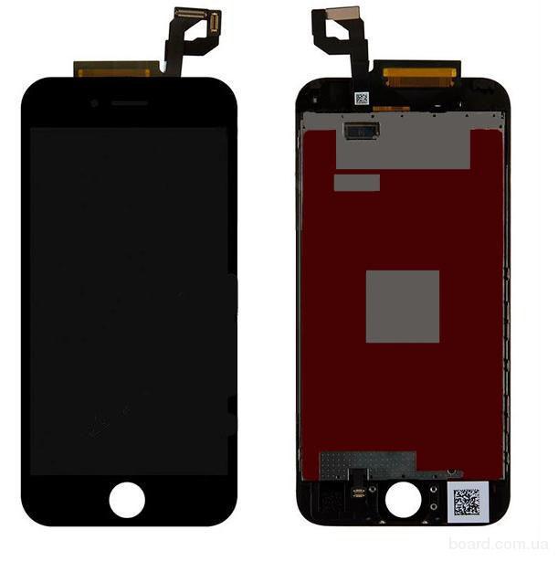 Дисплей для мобильного телефона Apple iPhone 6S Чёрный с Тачскрином Original 100%