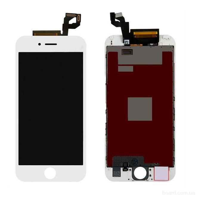 Дисплей для мобильного телефона Apple iPhone 6S Белый с Тачскрином White Original 100%