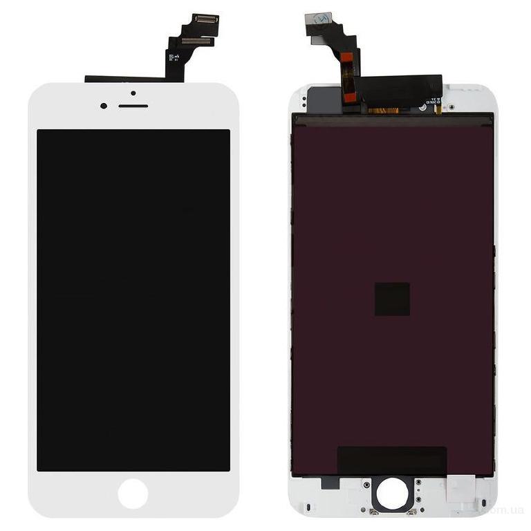 Дисплей для мобильного телефона Apple iPhone 6 Plus с тачскрином White Original