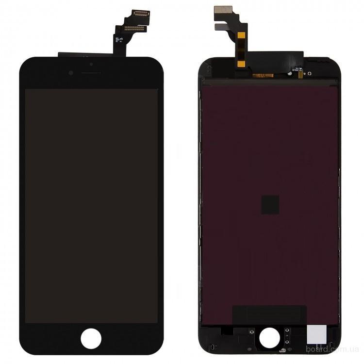 Дисплей для мобильного телефона Apple iPhone 6 Plus с тачскрином Black Original