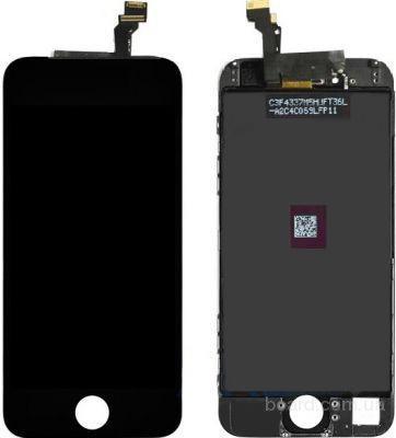 Дисплей для мобильного телефона Apple iPhone 6 Чёрный с Тачскрином
