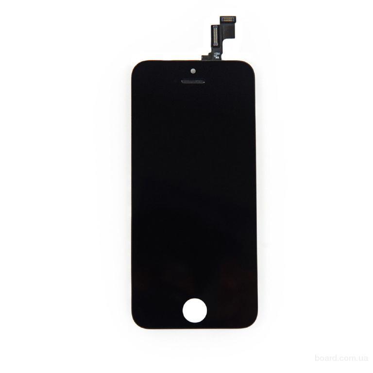 Дисплей для мобильного телефона Apple iPhone 5S touchscreen Black High Copy