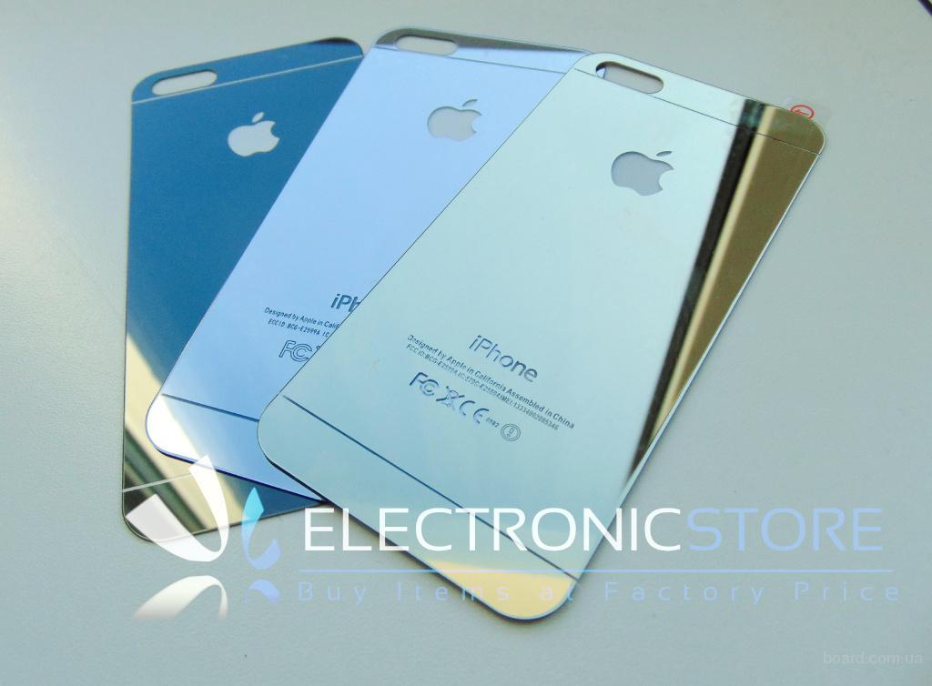 Зеркальне скло для IPhone 5