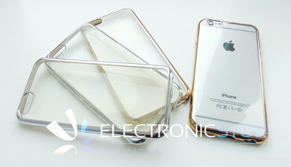 Силиконовый чехол Iphone5-6