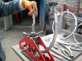 Трубогиб прокатный роликовый ручной универсальный для профильных и для круглых, в том числе тонкостенных, труб