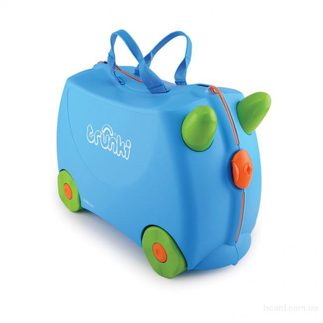 Чемодан детский на колесах Terrance Trunki TRUB054