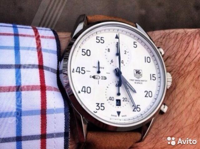 наручные часы мужские tag heuer carrera space x